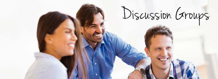 Discussion Groups web header