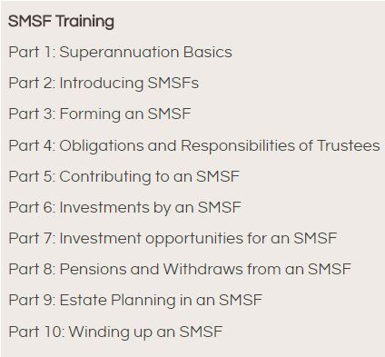 SMSF Component DFP