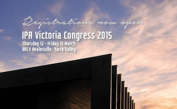 The 2015 Victorian State Congress